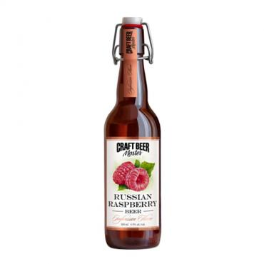 Пивной напиток Craft Beer Russian Raspberry