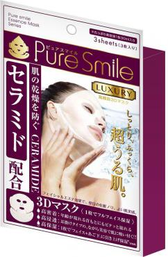 Маска для лица Pure Smile регенерирующая 3d с церамидами