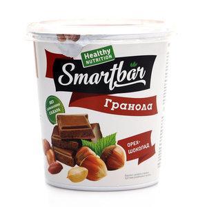 Готовый завтрак SmartBar Гранола запеченный с орехом и шоколадом
