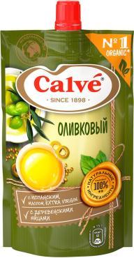 Соус Calve Майонезный оливковый, 200 гр., дой-пак с дозатором