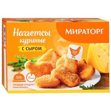 Наггетсы Мираторг куриные с сыром