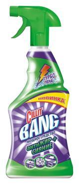 Чистящее средство CIllit Bang для кухни антиЖИР+СИЯНИЕ (спрей)