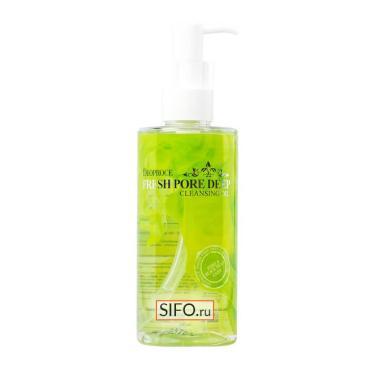 Масло для лица Deoproce Cleansing Oil Fresh Pore Deep Гидрофильное