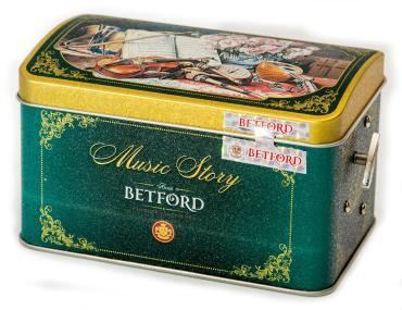 Чай Betford Музыкальный сундучок Музыкальная история листовой