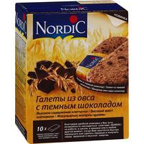Галеты Nordic из овса с шоколадом
