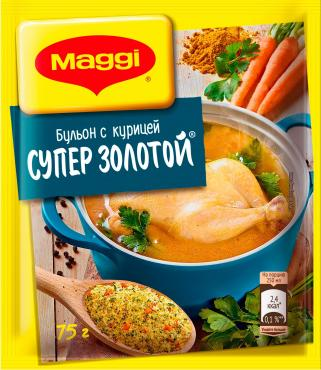 Приправа Maggi Супер золотой бульон с курицей