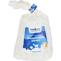 Сыр козий ko&co Пепельный конус с плесенью в золе 45%