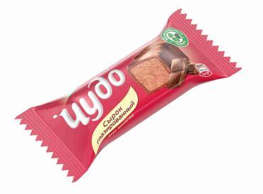 Глазированный сырок Чудо вкус шоколада 23%