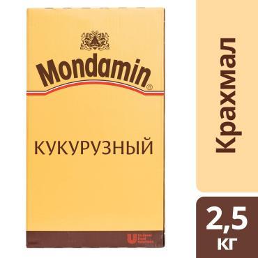 Кукурузный крахмал, Mondamin, 2.5 кг, картон