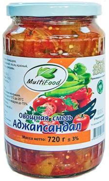 Овощная смесь MultiFood Аджапсандал