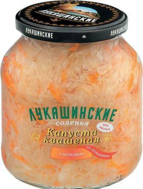 Капуста Лукашинские Квашеная с морковью По-домашнему