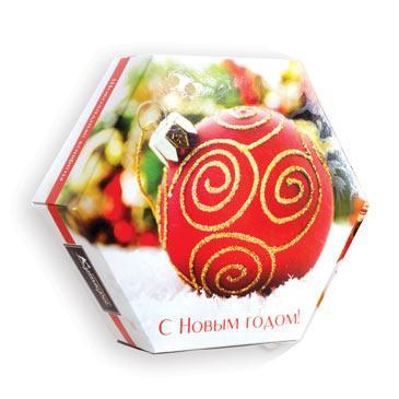 Набор конфет Кутюрье Шары шоколадный
