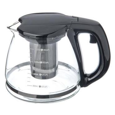 Чайник заварочный 1,5 л., ситечко из нержавеющей стали, стекло, пластик, 850-143, Vetta, картонная коробка