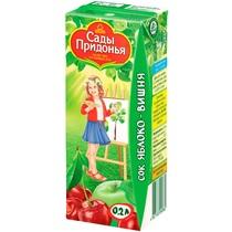 Сок Сады придонья Яблочно-вишневый с 5 месяцев