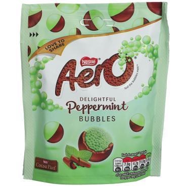 Конфеты, драже Nestlé Aero Bubbles Peppermint