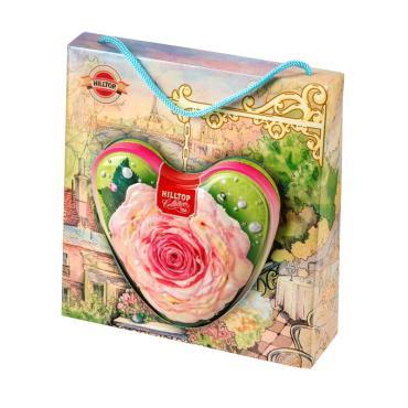 Чай Hyleys Чайная роза Улун ароматизированный листовой