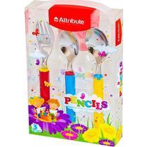 Набор детских столовых приборов Attribute Pencils 3 предмета