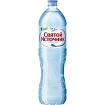 Вода минеральная Святой источник негазированная столовая 1,5 л