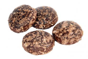 Пряники Шоколадные с орехом Мобилайт+ 400 гр., Флоу-пак