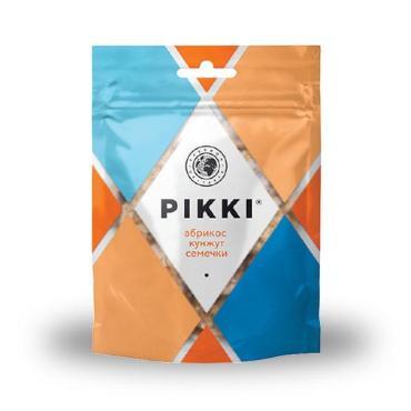 Конфеты Pikki Кранч с абрикосом кунжутом и семечками