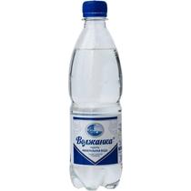 Вода минеральная газированная Волжанка 0,5 л.