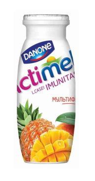Кисломолочный продукт Danone Actimel Мультифрукт 2,5 %