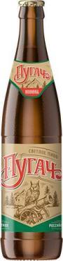 Пиво светлое Очаково Пугач фильтрованное пастеризованное 4,3% 0.45 л