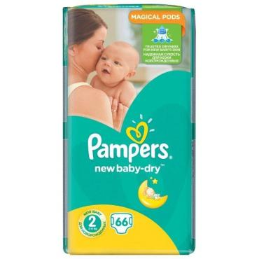 Подгузники Pampers New Baby-Dry 2 3-6 кг