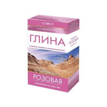 Глина для тела АртКолор Lutumtherapia Розовая