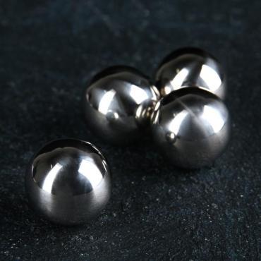 Набор камней для виски 2 сантиметра Шар, нержавеющая сталь