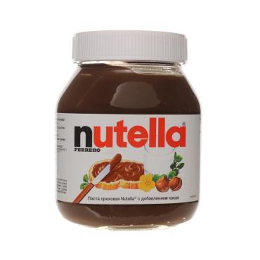 Паста ореховая с добавлением какао, Nutella, 630 г., стекло, 6 шт.