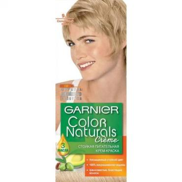 Краска для волос. Garnier Color Naturals 9.1 Солнечный Пляж