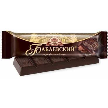 Шоколад Бабаевский Трюфельный мусс темный