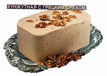 Халва Нимет кунжутная тахинная с грецким орехом неглазированная