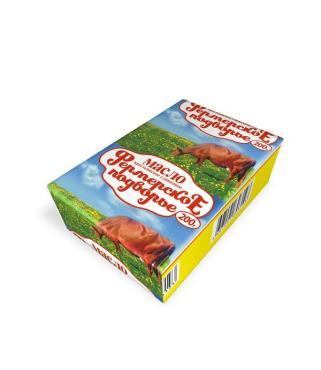 Масло сливочное 72,5 %, Фермерское подворье, 200 гр., Обертка фольга/бумага