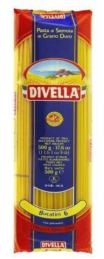 Макаронные изделия Букатини, Дивелла, 500 гр., пакет