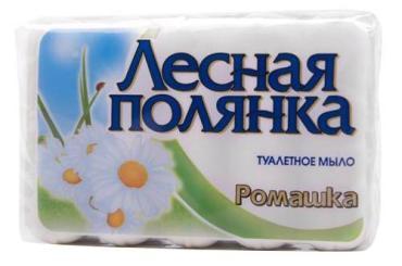 Крем-мыло Лесная Полянка Ромашка туалетное твердое