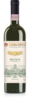 Вино столовое белое полусладкое, 10-12% Киммерия Мускат Крымский, 700 мл., стекло