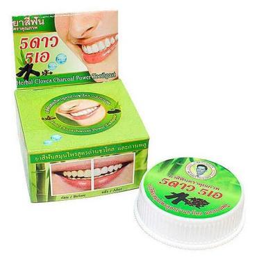Зубная паста с экстрактом угля Бамбука ISME Rasyan, 25 гр., картонная коробка