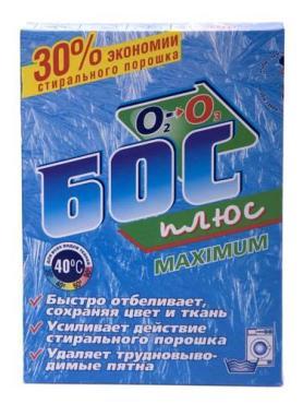 Отбеливатель Аист БОС плюс Maximum Для всех видов тканей
