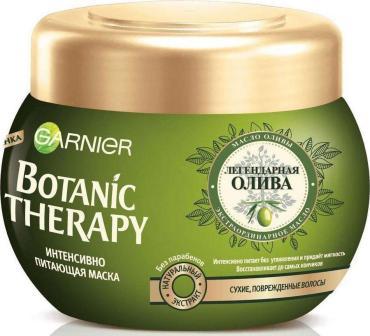Маска для волос, для сухих, поврежденных волос Garnier Botanic Therapy, Легендарная олива, 300 мл., пластиковая банка