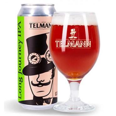 Пиво Long Journey I.P.A., Telmann, 500 мл., жестяная банка