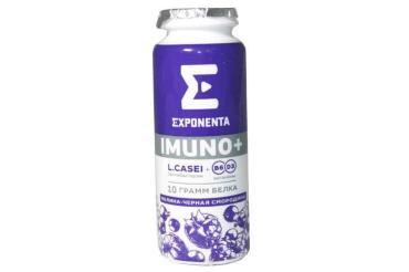 Напиток кисломолочный Exponenta Imuno+ Малина чёрная смородина