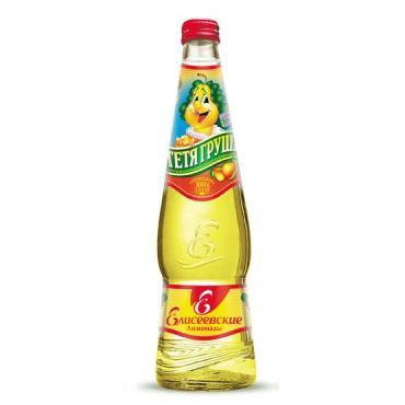 Газированный напиток Елисеевские лимонады Тетя Груша
