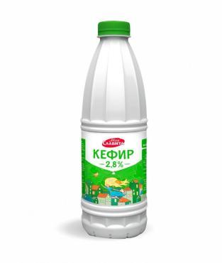 Кефир Моя Славита 2,5% , 900 мл., пластиковая бутылка