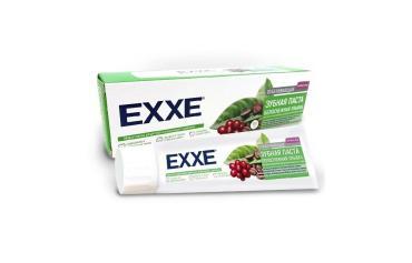 Зубная паста EXXE отбеливающая Белоснежная улыбка