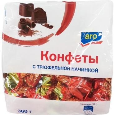 Конфеты Aro с трюфельной начинкой шоколадные