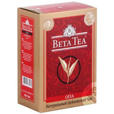 Чай Beta Tea Экстра черный крупнолистовой