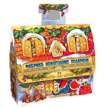 Подарочная новогодняя упаковка для сладких подарков Харменс Фабрика новогодних подарков