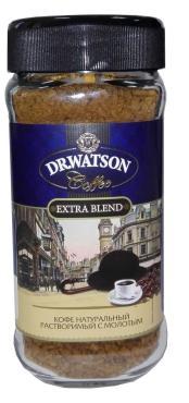 Кофе Dr.Watson натуральный растворимый сублимированный